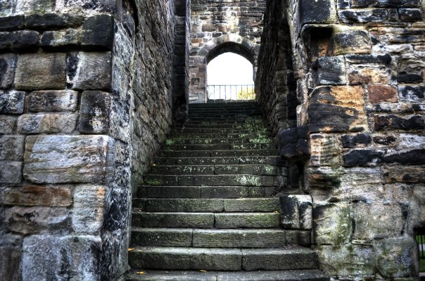 Kirkstall Abbey Staircase