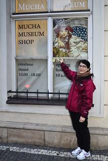 慕夏博物館 捷克 布拉格 Alfons Mucha Museum ,吃國民 ...