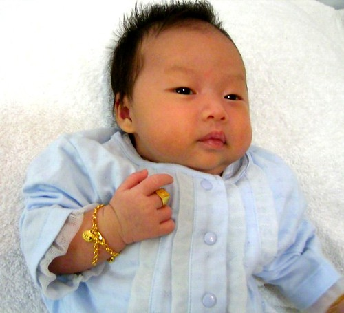 Monica's baby~~滿月照   日子過的很快,就滿月了。 寶寶很可愛,分享部份給大家看囉!! Monica H…   Golden King   Flickr