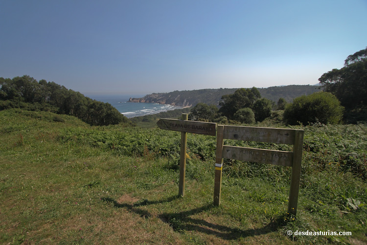 Playa de Barayo Navia Playas Asturias  Playas de