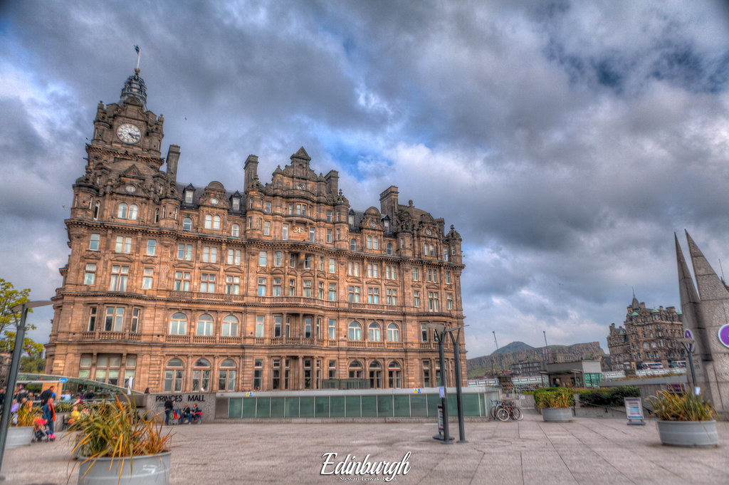 Balmoral Hotel Edinburgh Scotland United Kingdom Flickr