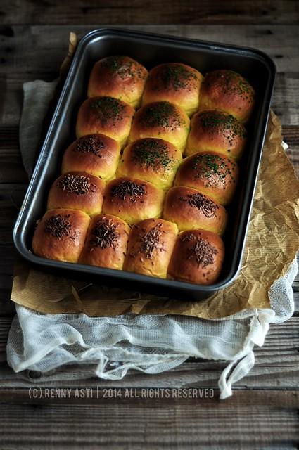 Roti Isi Coklat : coklat, Kasur, Coklat, Kacang, Renny, Flickr