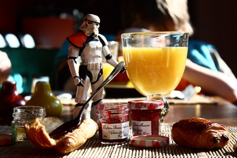 Breakfast Trooper