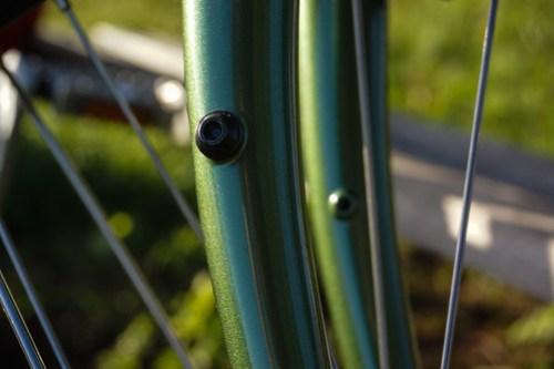 Ridgeback Expedition: mid fork eyelets