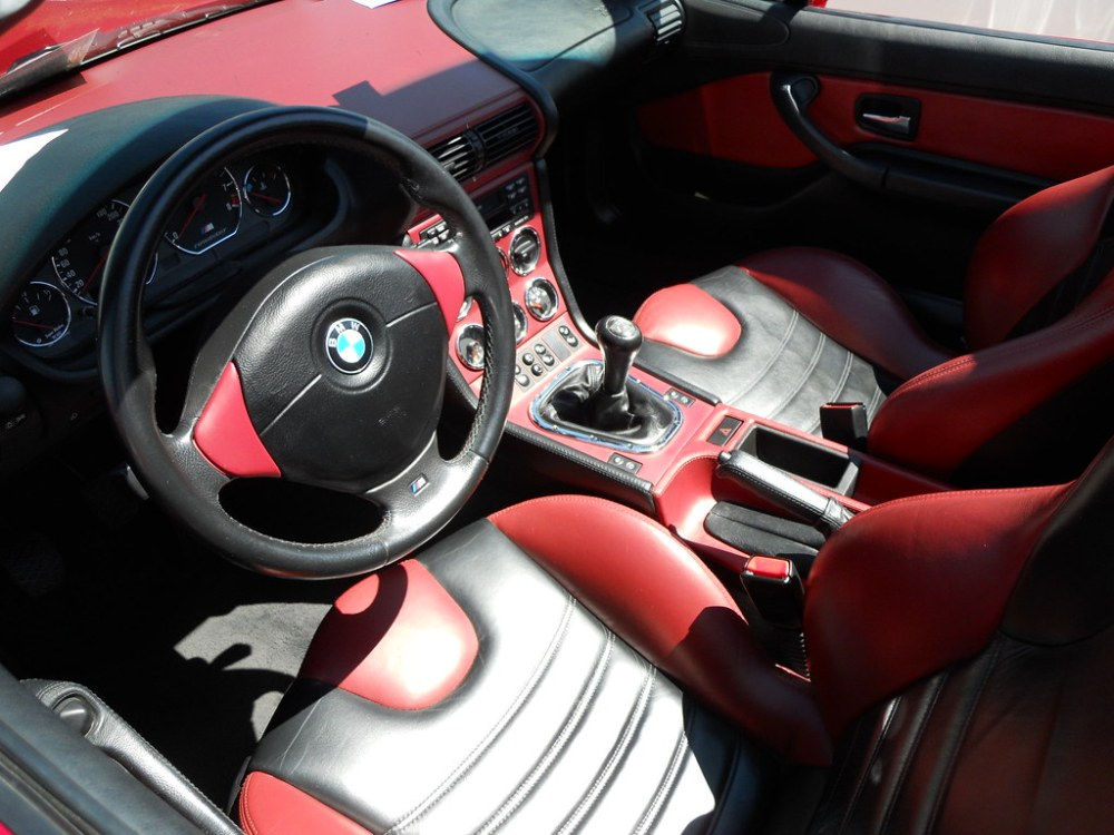 medium resolution of  bmw z3 m roadster interior by oliver c photography