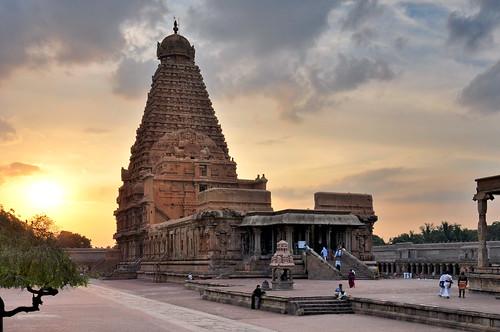 India - Tamil Nadu - Thanjavur - Brihadeshwara Temple - 1