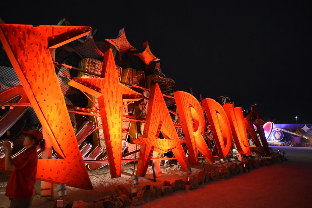 Vegas 2013 Summer Neon Museum Las Vegas