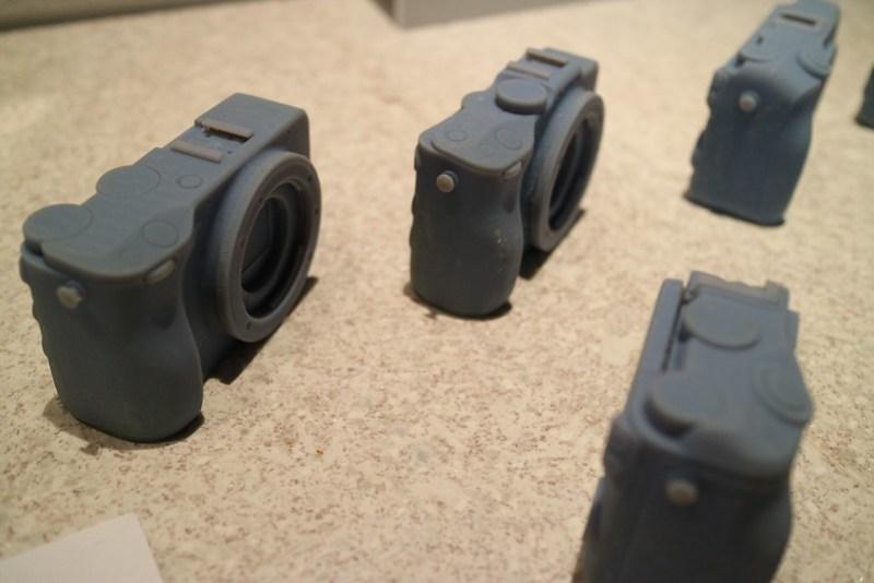"3D print trial model Canon EOS M3 67 ""EF-M22mm F2 STM"""