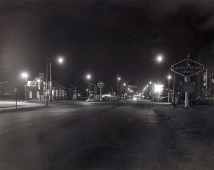 1969 Corner of Erie and Vine facing west