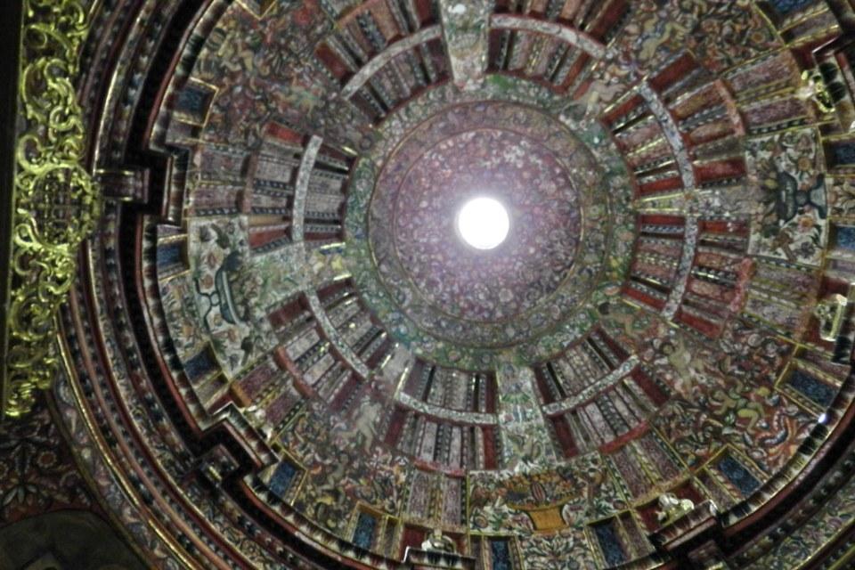 cupula Capilla de San Ignacio en Iglesia Compañia de Jesus Arequipa Peru 02