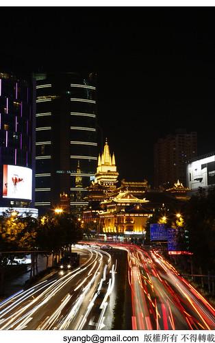黃金之城   攝於上海靜安寺   Yang-SH   Flickr