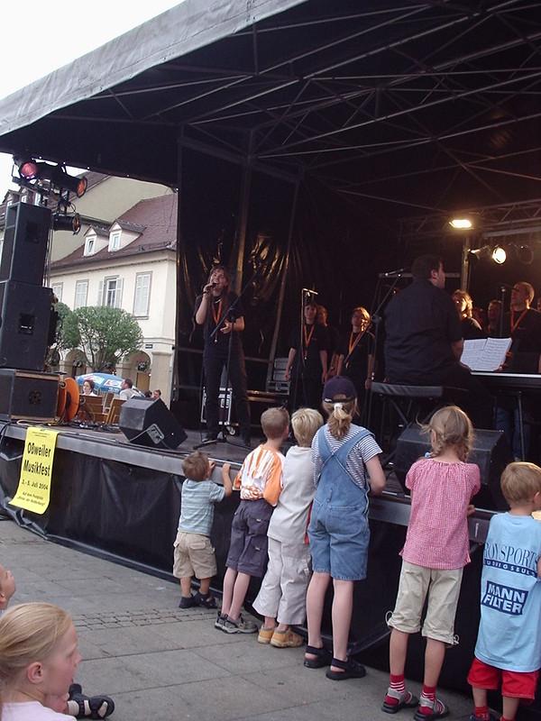 Abensterne Marktplatzfest 2004 004