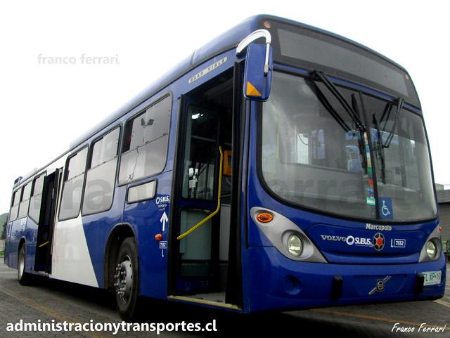 Transantiago | Subus | Marcopolo Gran Viale - Volvo / FLXP10 - 7552