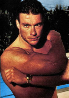 Jean Claude Van Damme Aware : claude, damme, aware, Jean-Claude, Damme, French, Postcard,, Sorry,, Flickr
