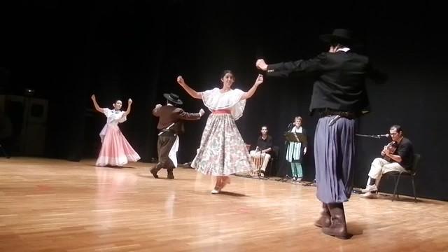 Jacaranda y Nobleza Gaucha - Chacarera del olvidao - II Encuentro Intercultural Virgen de Coromoto