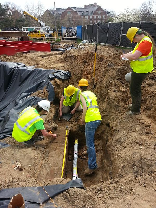 Old Vet Lab Excavation