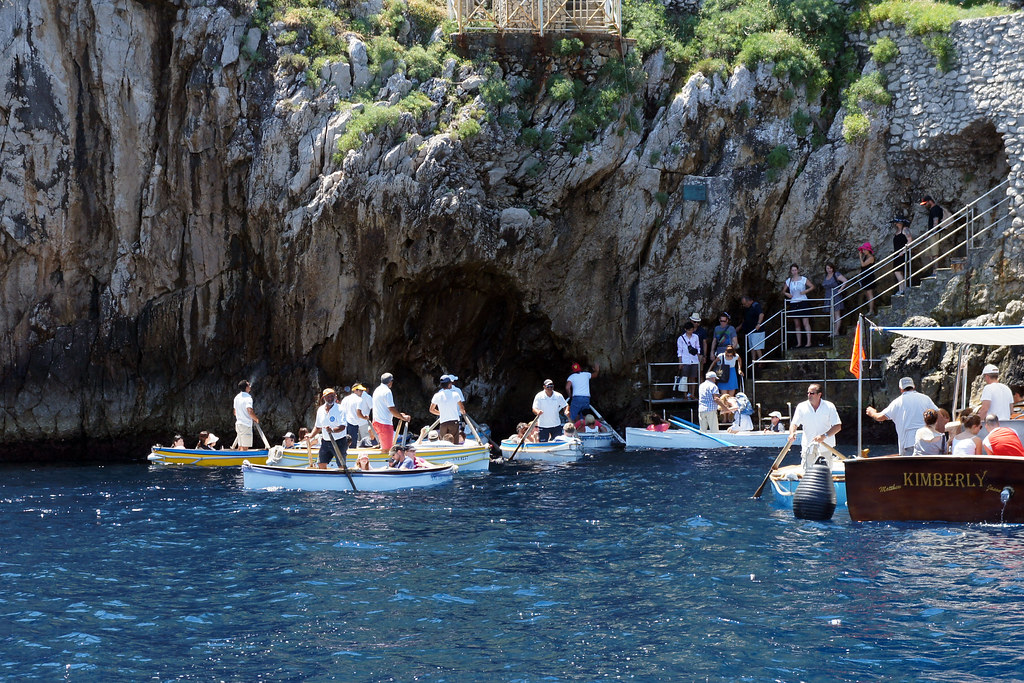 Traffic Jam at the Grotto