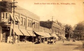 1910 Erie facing south