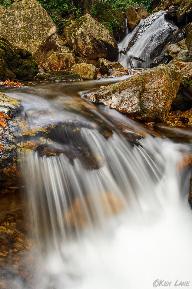 Skinny Dip Falls on the Blue Ridge Parkway (North Carolina)