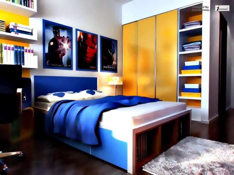 modern bedroom interior design concept