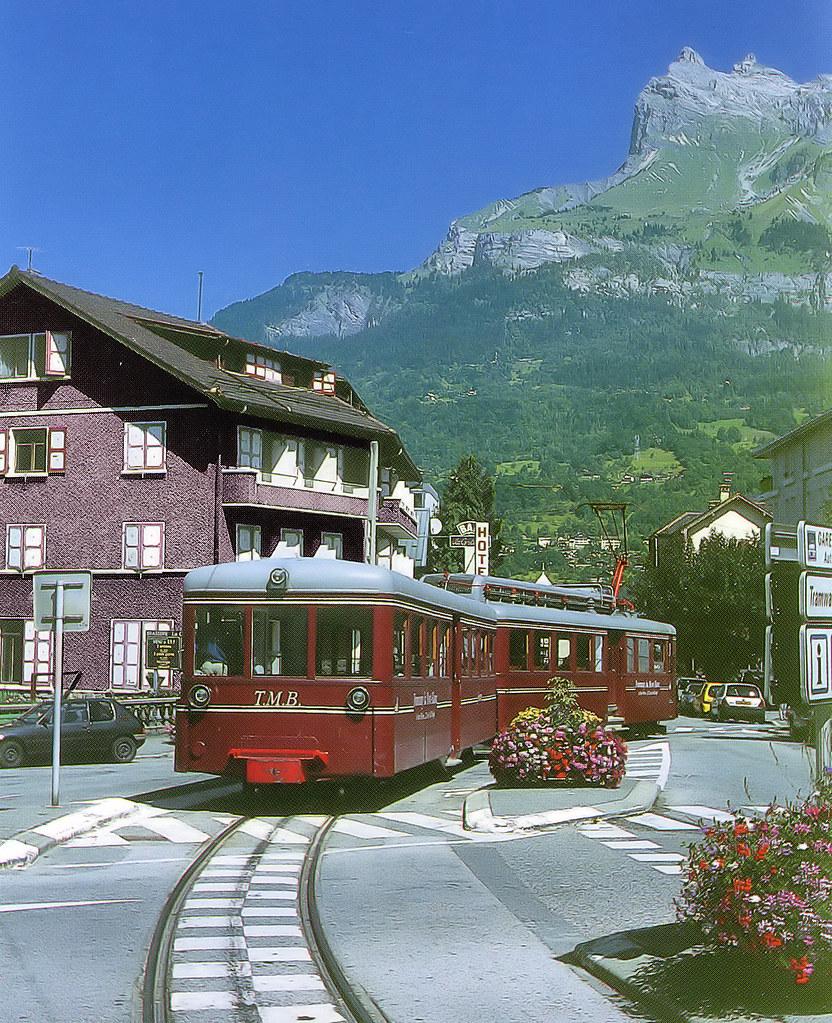 Tramway Du Mont-blanc : tramway, mont-blanc, Pictures, Postcard, France, Tramway, Blanc, Flickr