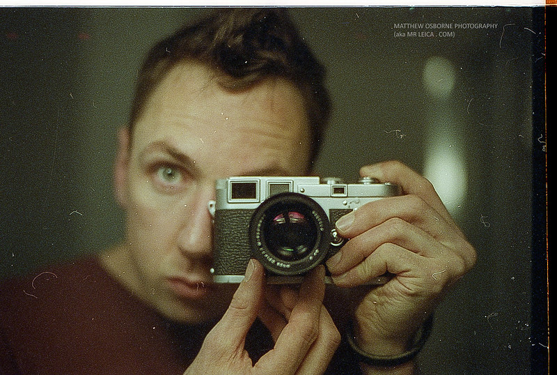 Mr Leica Vintage Selfie!