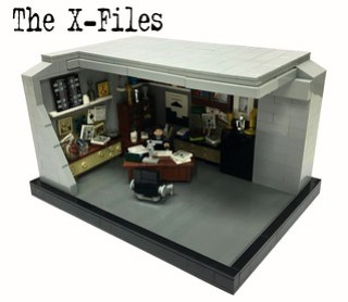 "The X-Files ""Fox Mulders Office"""