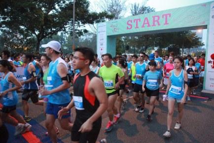 MediaCorp Hong Bao Run 2014