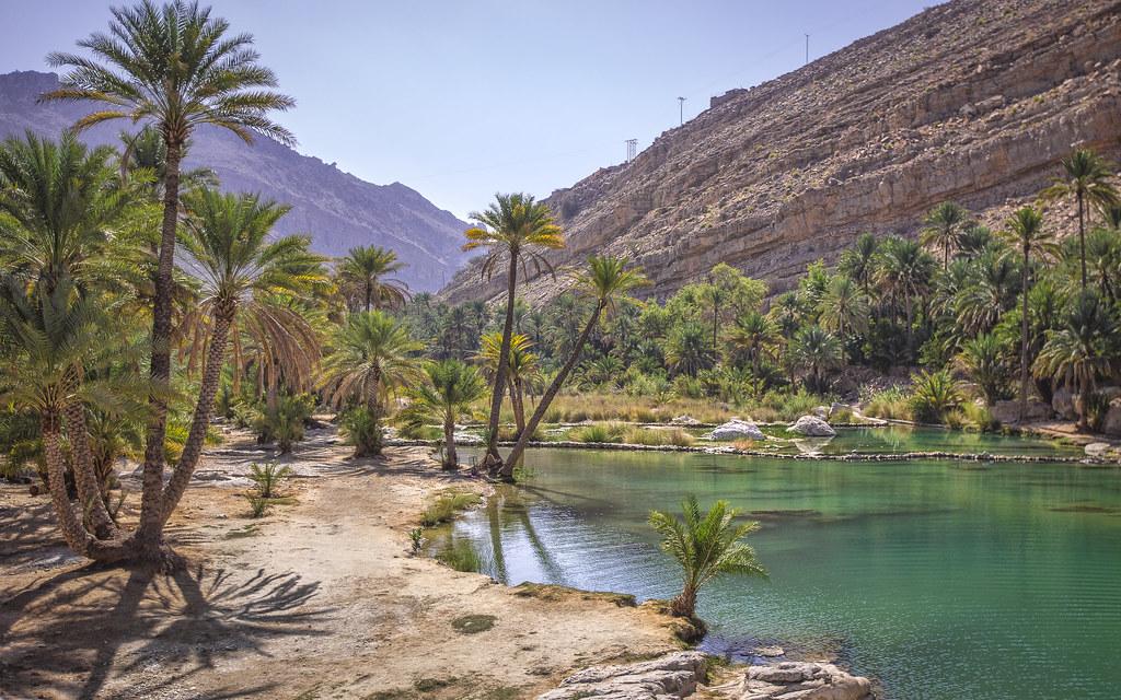 Desert 3d Wallpaper Desert Oasis This Place Is Called Wadi Bani Khalid In