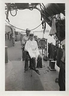 Sailor Haircut : sailor, haircut, Sailor,, Haircut,, Ship,, Photolibrarian, Flickr