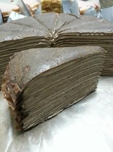 chocolate hazelnut millie crepe