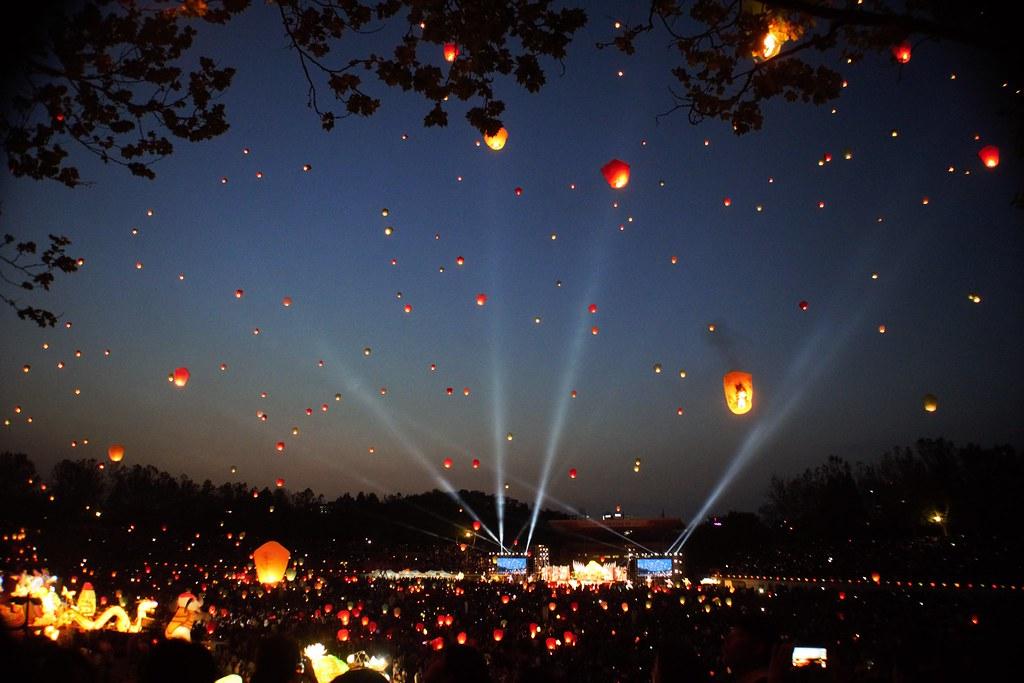 Daegu Chinese Wish Lantern Festival  Yes I finally went