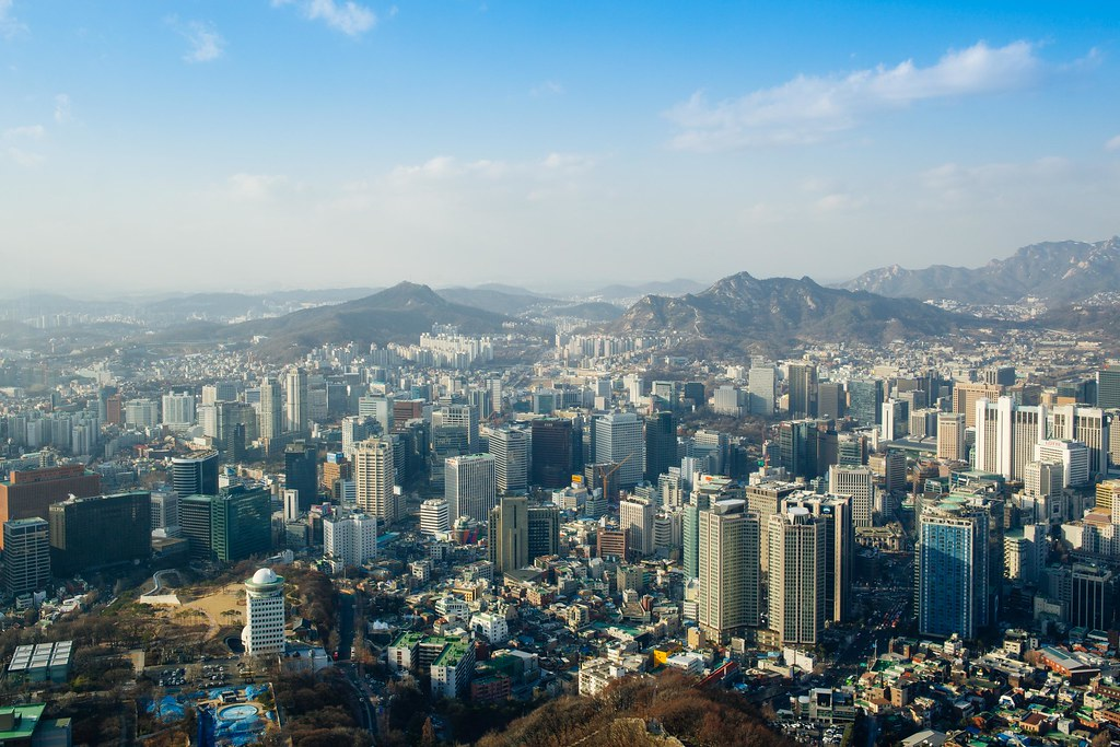 Seoul: Seoul Tower | The N Seoul Tower. is Seoul's landmark … | Flickr