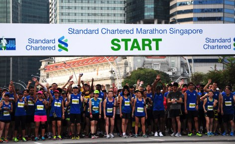 Standard Chartered Marathon Singapore 2014