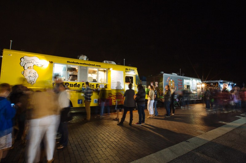 Food Trucks Around Town