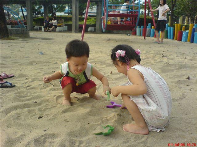 葫蘆洲運動公園 | 最喜歡玩沙 | Terry Lin | Flickr