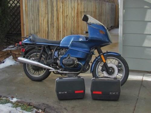 Bike & Bags When I Got It Home