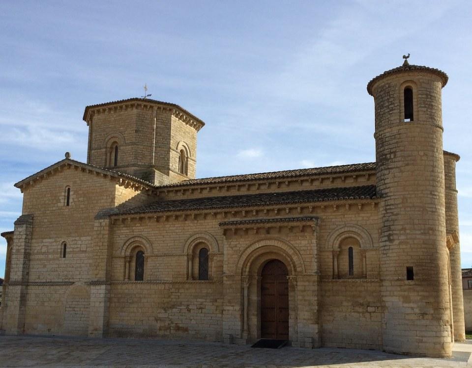 Iglesia románica de San Martín en Frómista Palencia  01 exterior