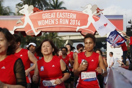 Great Eastern Women's Run 2014