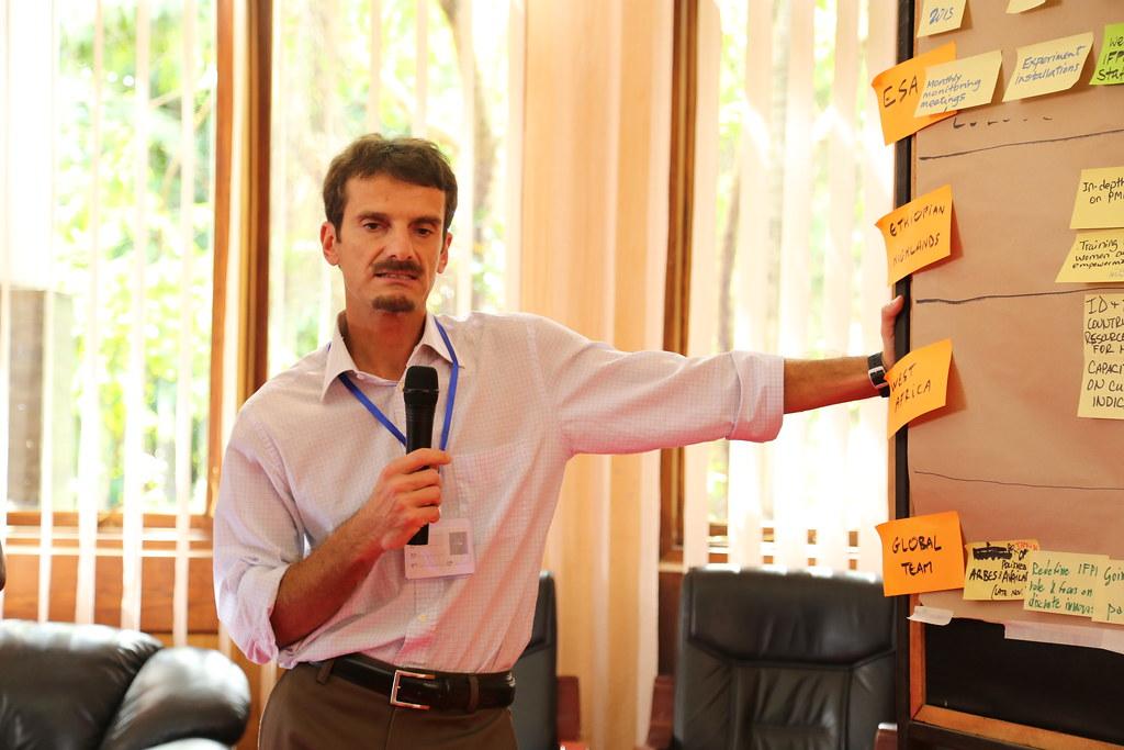Carlo Azzarri (Photo credit: IITA/Jonathan Odhong')
