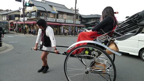 Rickshaw, Arashiyama