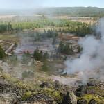 73 -Yellowstone. Norris Geyser Basin