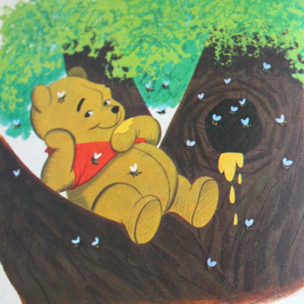 Winnie The Pooh Meets Gopher Vintage Little Golden Book Flickr
