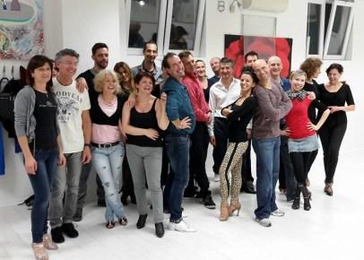 Salsarikamo Stage Salsa Portoricana Debora Pezzoli e Riccardo Michelin