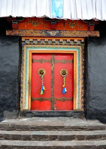 Shigatse Monastery, Tibet