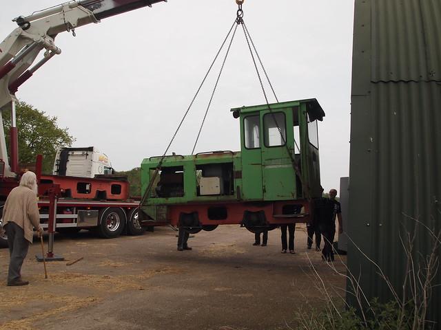 Schoma Lodocs arrive at Crowle Moor