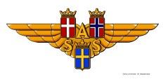 Afbeeldingsresultaat voor scandinavian airlines logo