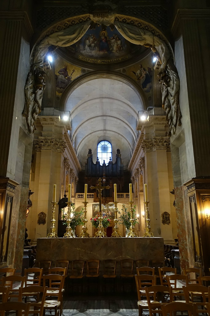 Eglise Saint Thomas D Aquin : eglise, saint, thomas, aquin, Chapelle, Saint-Louis, Église, Saint-Thomas-d'Aquin, Paris…, Flickr