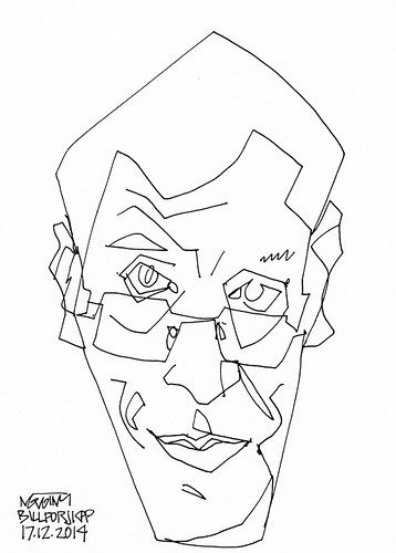 A Drawing a Day #35: Bill for JKPP #ADrawingADay, #Drawing