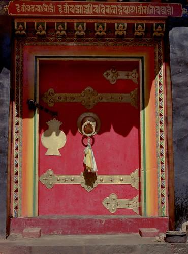 Door at Tashilhunpo Monastery (Xigaze, Tibet 1993)